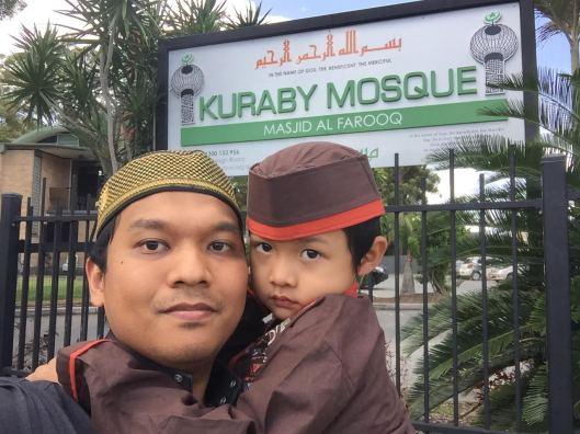 Friday Prayer at Kuraby Mosque, Brisbane, Australia